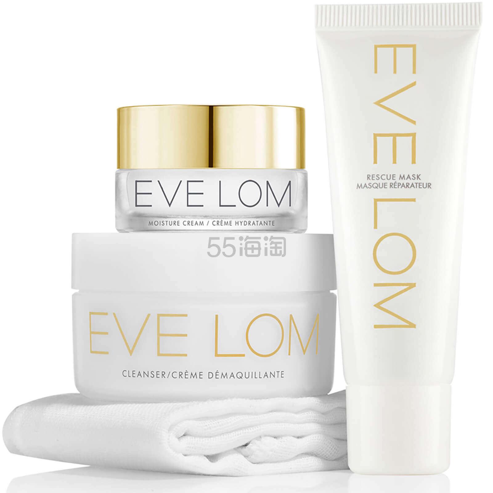 EVE LOM 尝鲜护肤套装 £44.2(约366元) - 海淘优惠海淘折扣 55海淘网