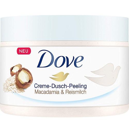闪促好价!Dove 多芬 坚果米浆冰淇淋身体磨砂膏 225ml*4罐