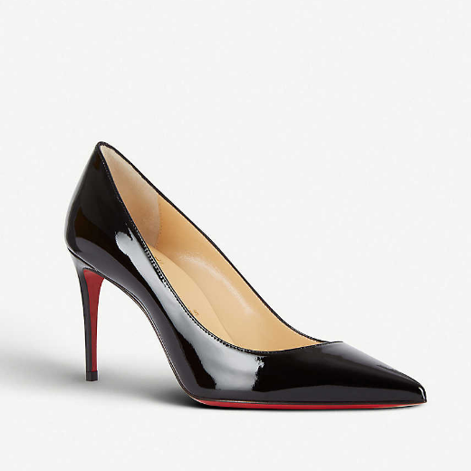 Christian Louboutin Kate 85 漆皮鞋