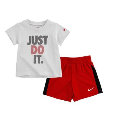 Nike Just Do It 小童款T恤短裤套装