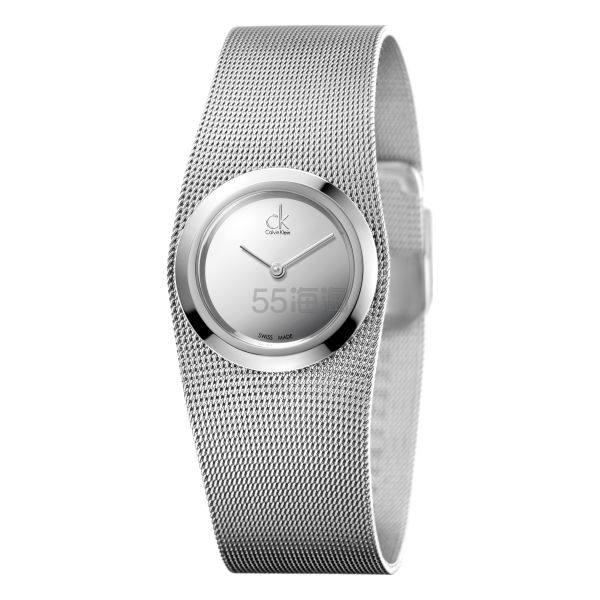 Calvin Klein 卡尔文·克莱因 Impulsive 银色女士时装腕表 K3T23128 .99(约281元) - 海淘优惠海淘折扣|55海淘网