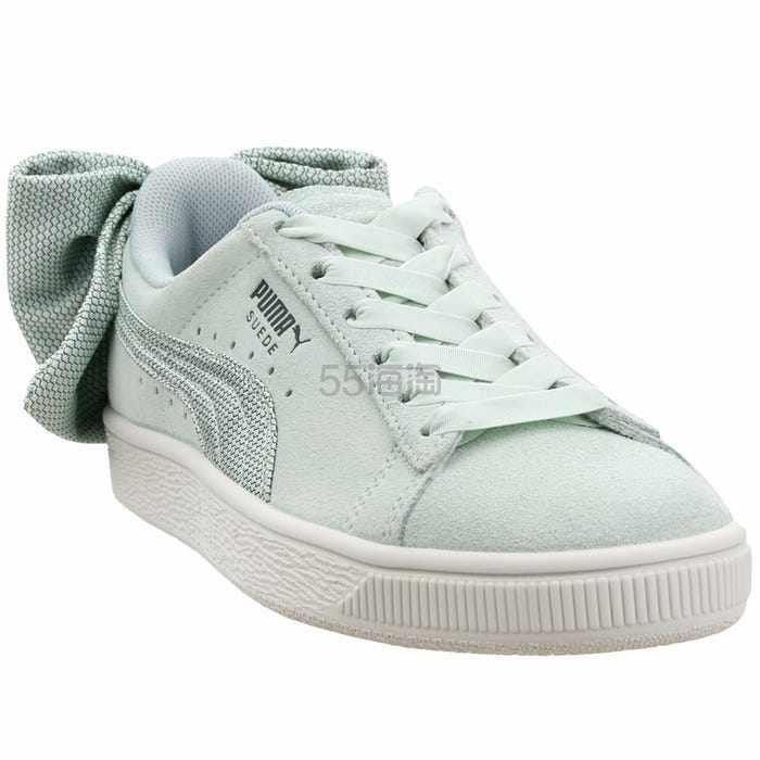 Puma 彪马 Bow Hexamesh 浅薄荷绿色蝴蝶结运动鞋 .95(约314元) - 海淘优惠海淘折扣|55海淘网