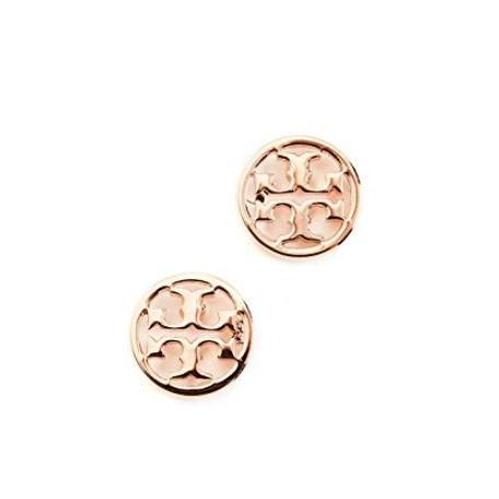 Tory Burch Logo Circle 品牌logo耳钉