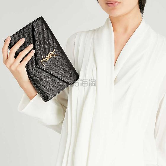 Saint Laurent Monogram 绗缝皮革单肩包 港币7,800(约7,146元) - 海淘优惠海淘折扣|55海淘网