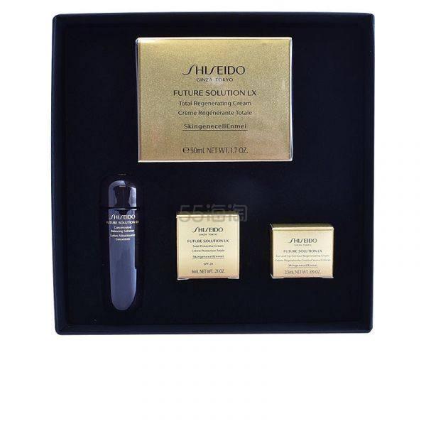 1套免邮!Shiseido 资生堂 时光琉璃系列护肤4件套套装 €175.96(约1,372元) - 海淘优惠海淘折扣|55海淘网