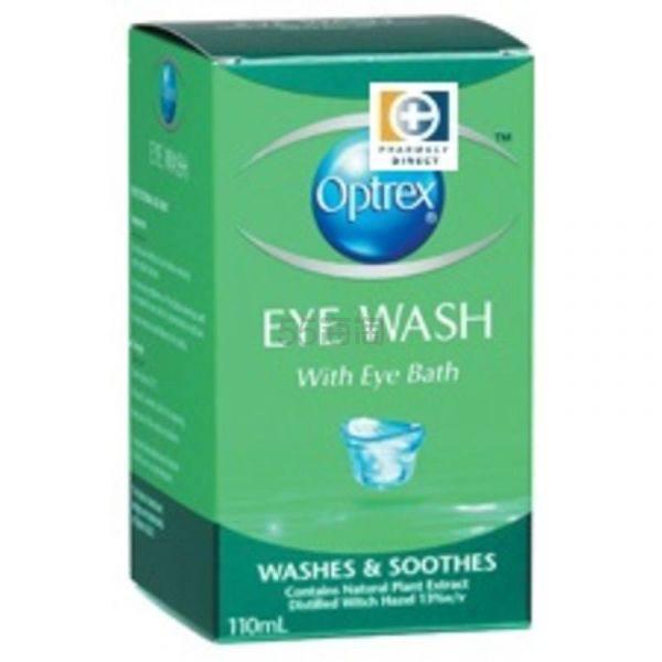 Optrex 温和无刺激洗眼液 110ml 舒缓干涩疲劳 9.9纽币(约41元) - 海淘优惠海淘折扣|55海淘网