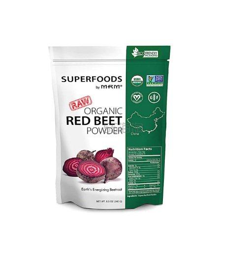 MRM 有机红甜菜粉 240g .99(约91元) - 海淘优惠海淘折扣|55海淘网