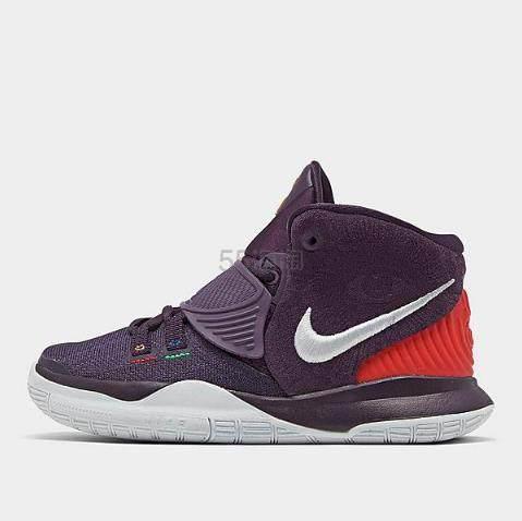 Nike 耐克 Kyrie 6 中童款篮球鞋 紫罗兰 (约246元) - 海淘优惠海淘折扣 55海淘网