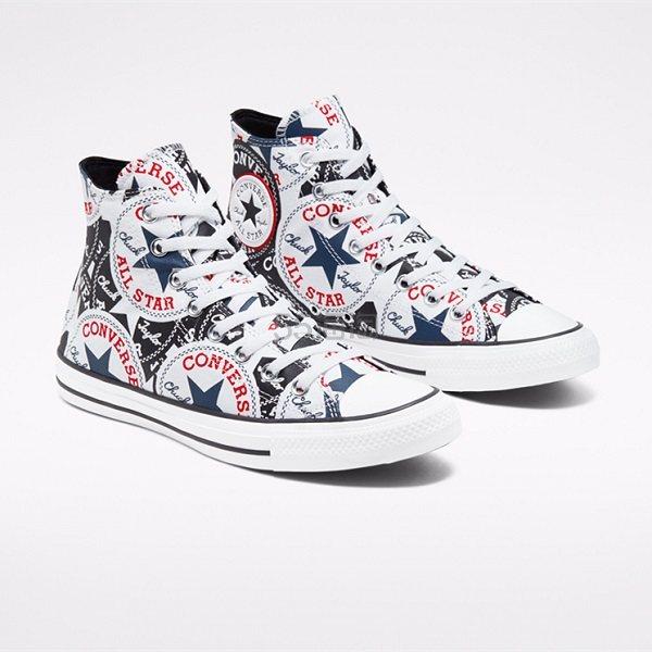 Converse 匡威 All Star 趣味 logo 高帮鞋 .38(约206元) - 海淘优惠海淘折扣|55海淘网