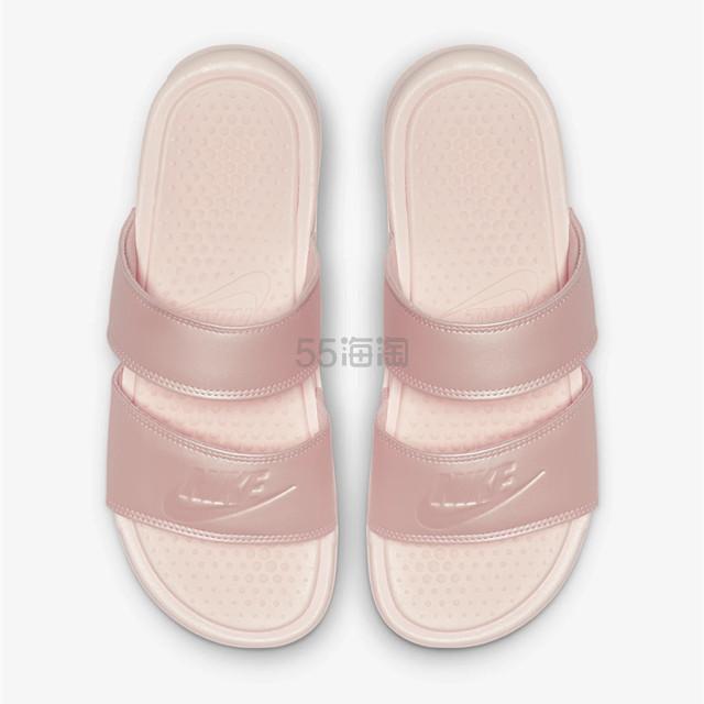 Nike 耐克 Benassi Duo Ultra Slide 樱花粉女子拖鞋 ¥149 - 海淘优惠海淘折扣|55海淘网