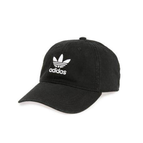 ADIDAS ORIGINALS 黑色休闲棒球帽