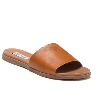 Steve Madden Kailey 棕色凉拖鞋 .97(约281元) - 海淘优惠海淘折扣|55海淘网