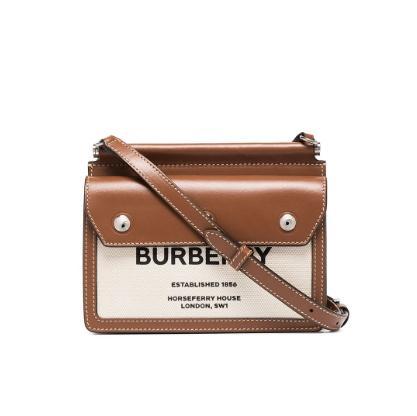BURBERRY Pocket 迷你款帆布包包