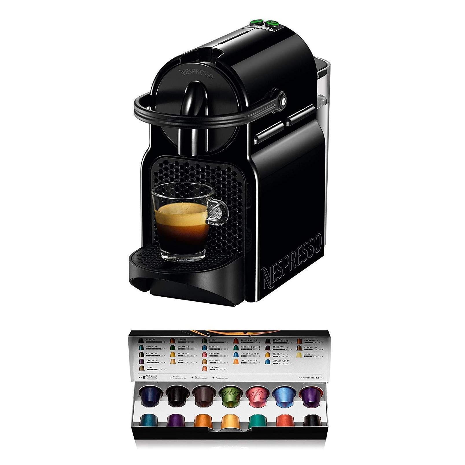 De'Longhi 德龙 Inissia EN 80.B Nespresso 胶囊咖啡机 赠咖啡胶囊14颗