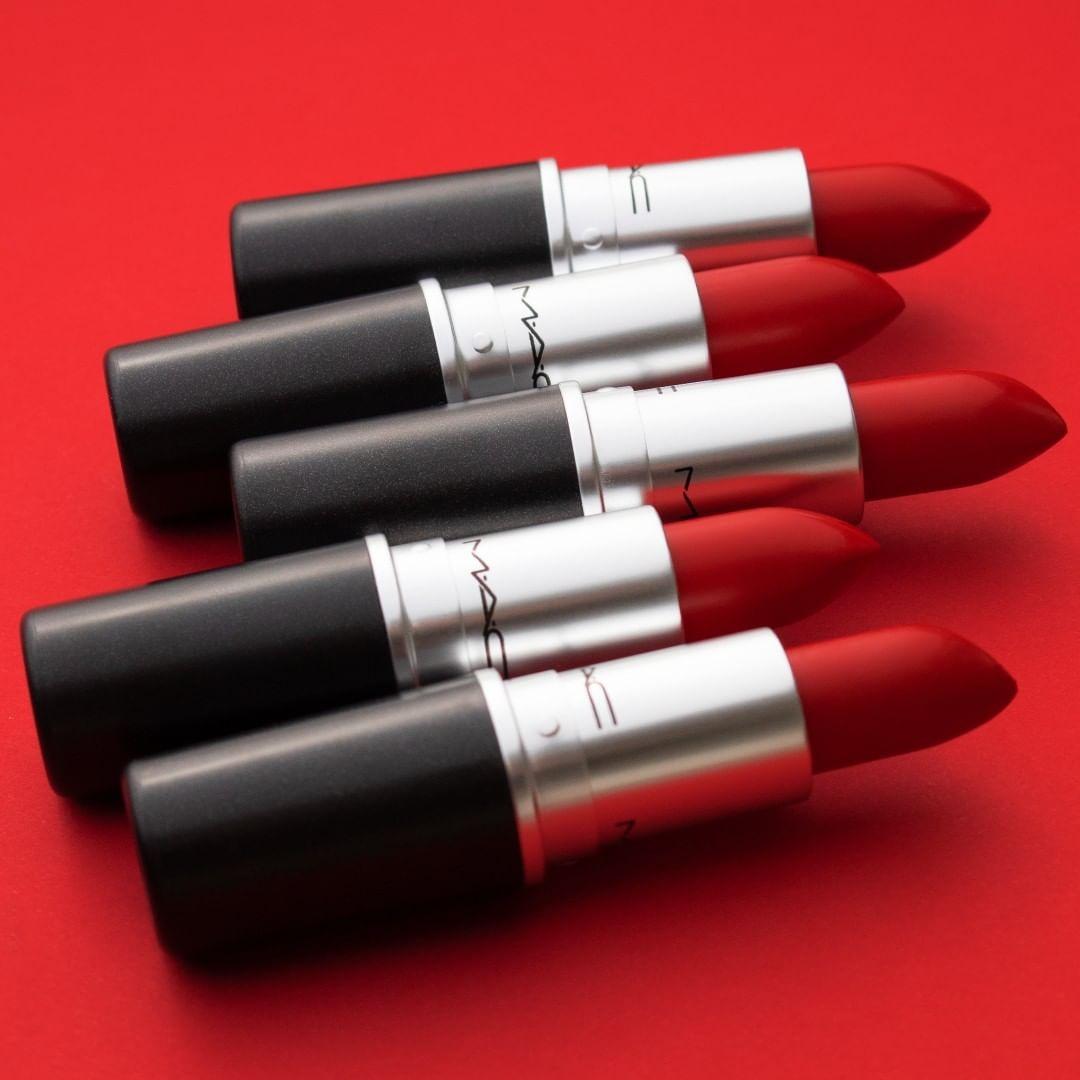MAC 魅可官网:精选热门色号口红、唇釉
