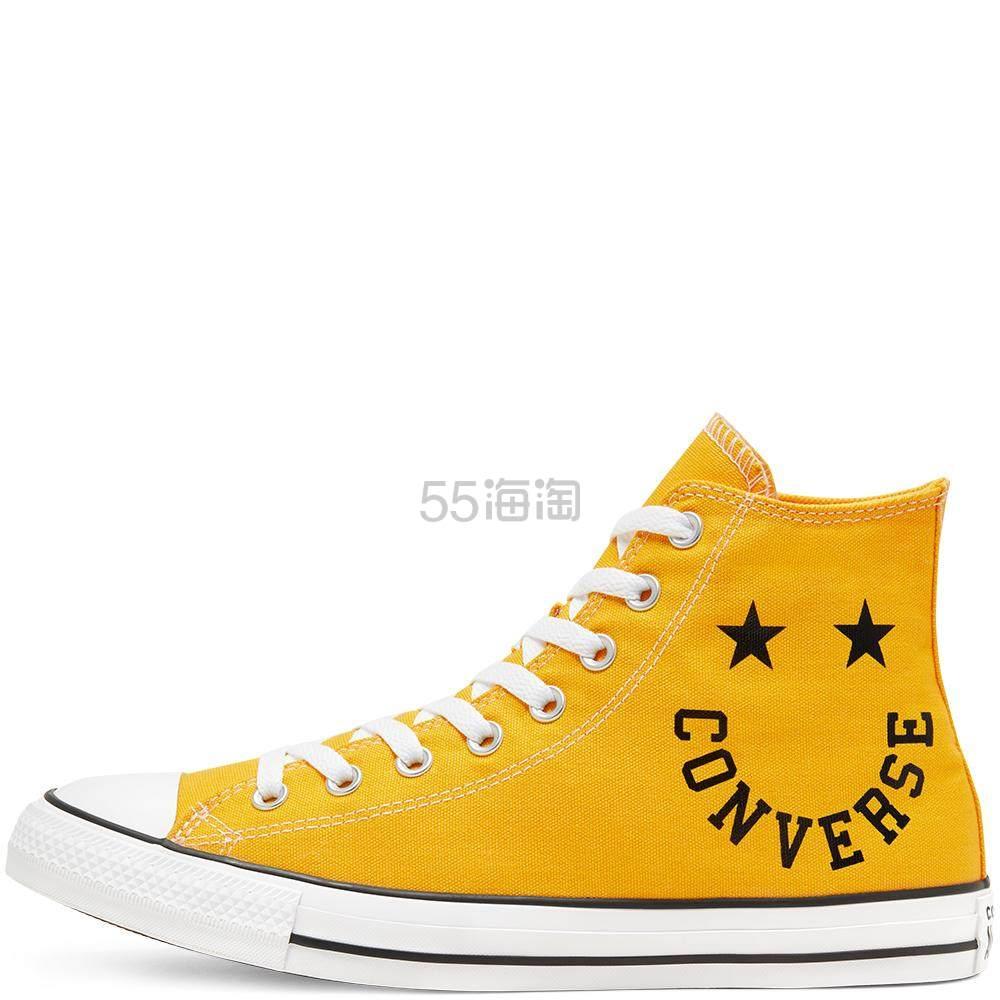 三色可选!Converse 匡威 All Star 笑脸高帮鞋 £24.99(约221元) - 海淘优惠海淘折扣|55海淘网