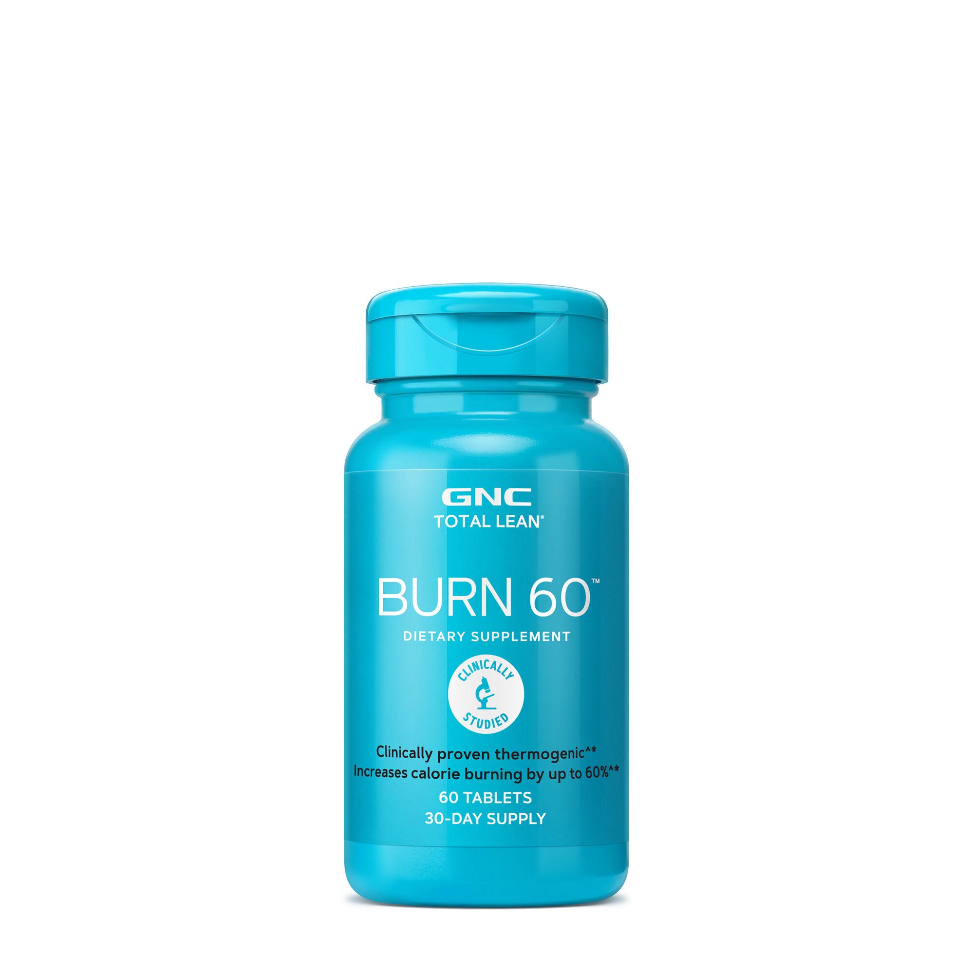 GNC 健安喜 Burn 60 燃脂配方胶囊 60粒