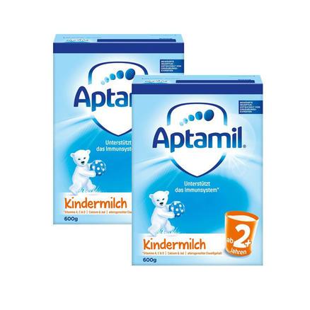 用码包邮包税!Aptamil 爱他美幼儿配方奶粉2+ (2岁以上) 600g*2盒(新旧版本随机发货)