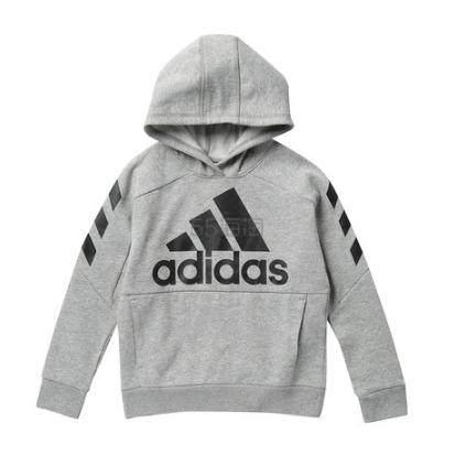 adidas 童款灰色卫衣 .73(约153元) - 海淘优惠海淘折扣|55海淘网