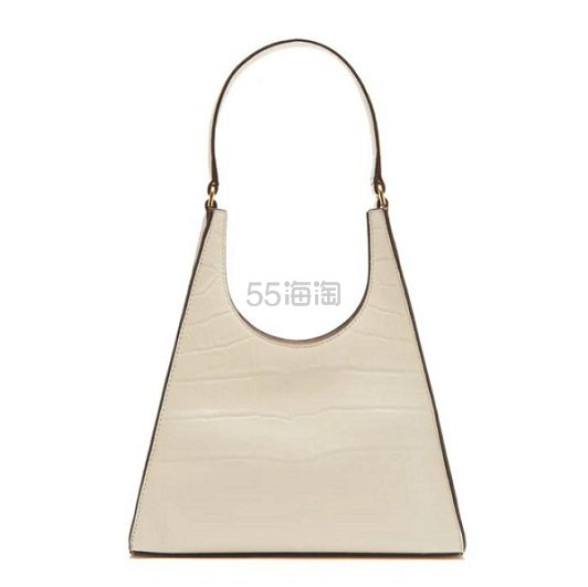 STAUD Rey 鳄鱼皮纹理白色手袋 €206.4(约1,615元) - 海淘优惠海淘折扣 55海淘网