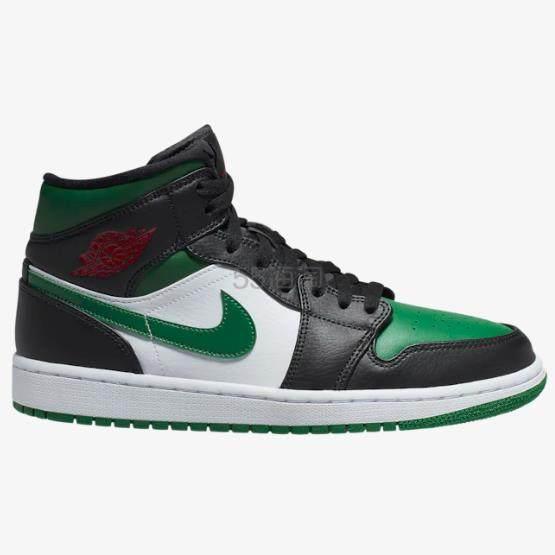 【补码】Air Jordan 1 男子篮球鞋 Pine Green 黑绿脚趾 5(约808元) - 海淘优惠海淘折扣|55海淘网