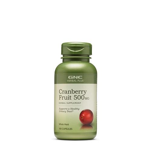 GNC 健安喜 蔓越莓精华胶囊 500mg 100粒
