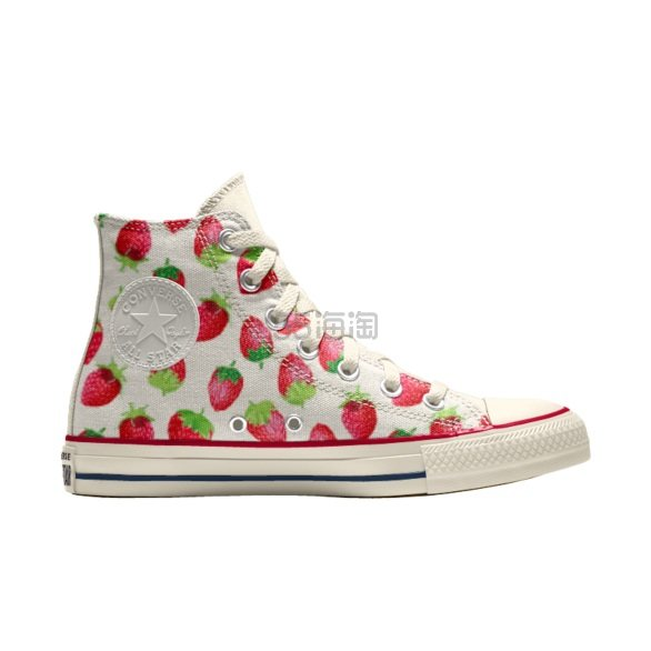 Converse 匡威 All Star 小草莓高帮鞋 £52.5(约462元) - 海淘优惠海淘折扣|55海淘网