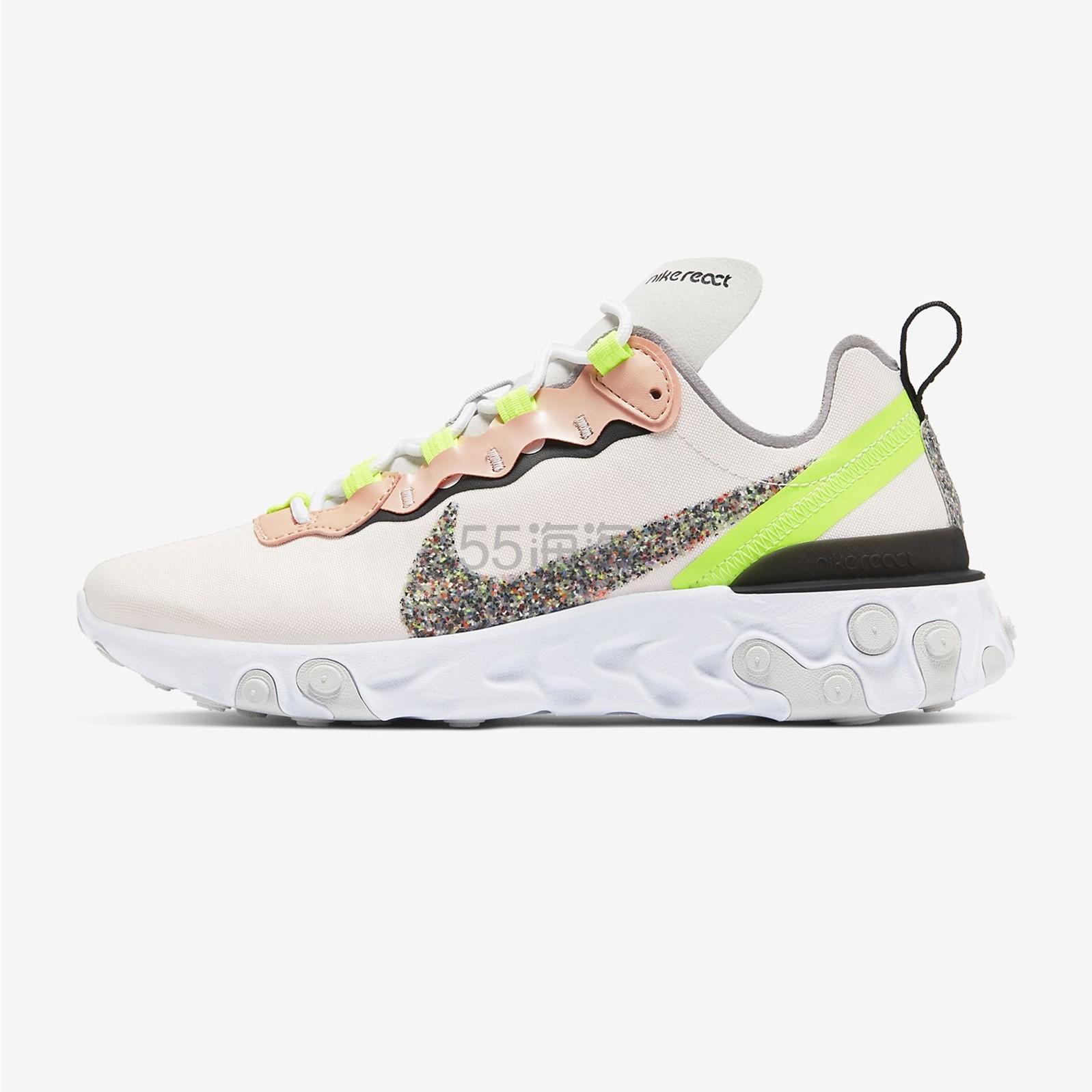 Nike 耐克 React Element 55 PRM 女子运动鞋 ¥479 - 海淘优惠海淘折扣|55海淘网