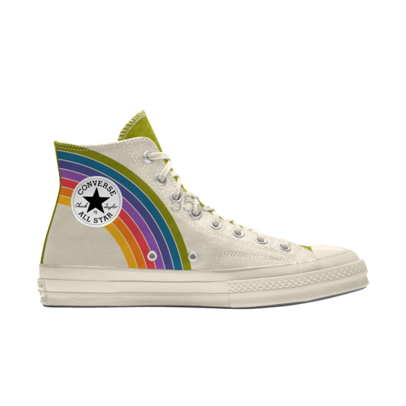 Converse 匡威 Chuck 70 彩虹条纹高帮鞋 £67.5(约594元) - 海淘优惠海淘折扣|55海淘网