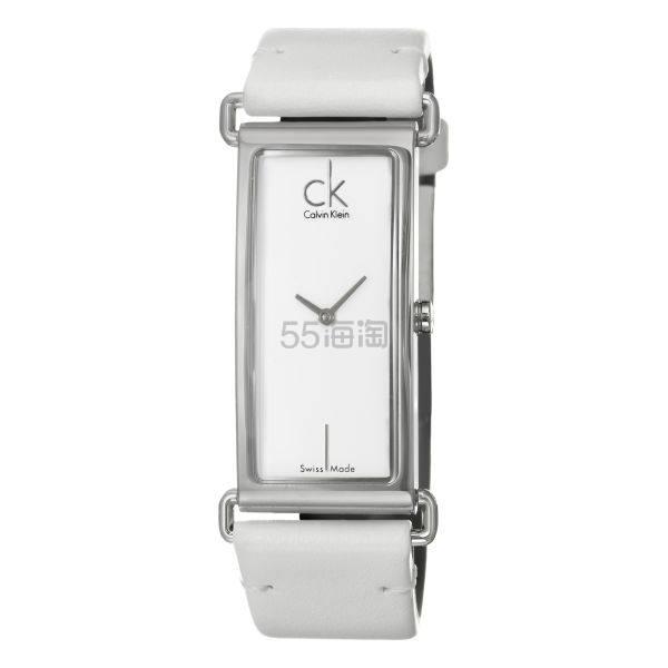 Calvin Klein 卡尔文·克莱因 Citified 系列 银白色女士时装腕表 K0I23101 .74(约209元) - 海淘优惠海淘折扣|55海淘网
