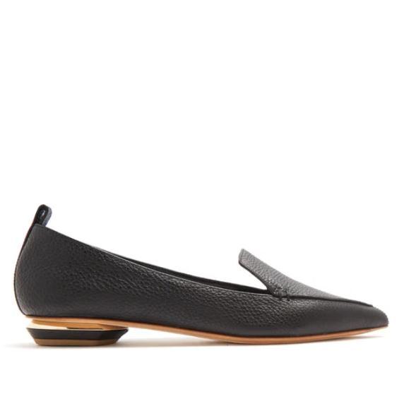 NICHOLAS KIRKWOOD Beya 黑色尖头乐福鞋