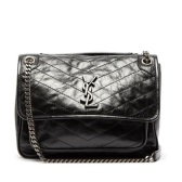 SAINT LAURENT Niki 黑色中号包包