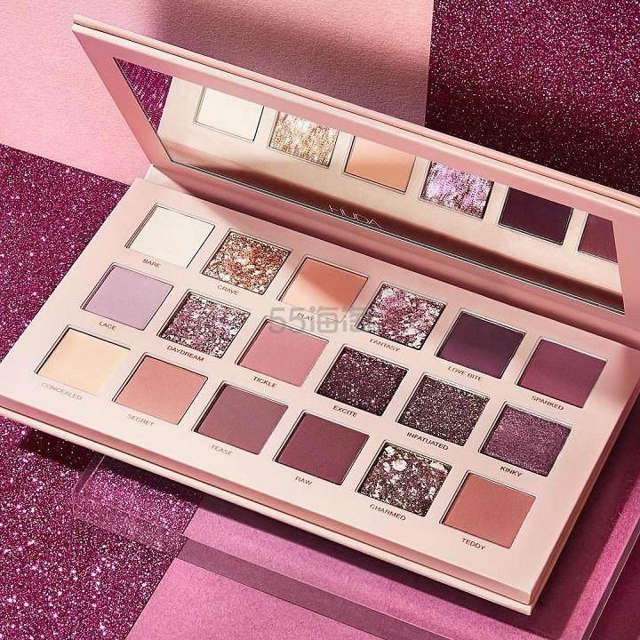 【可直邮】Huda Beauty Nude 裸色18色眼影盘 £39.67(约349元) - 海淘优惠海淘折扣|55海淘网