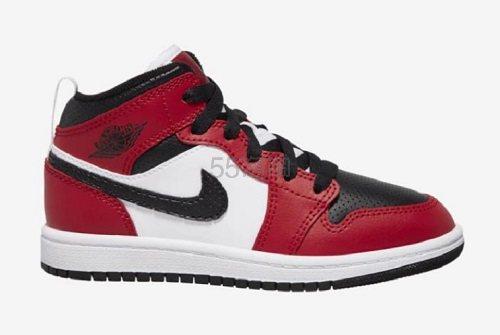 【新款】Jordan 乔丹 AJ 1 Mid 中童款运动鞋 (约456元) - 海淘优惠海淘折扣|55海淘网