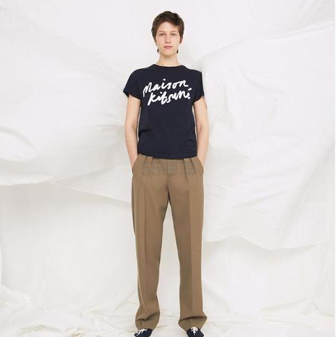Maison Kitsuné 女士黑色短袖 T 恤 ¥378.4 - 海淘优惠海淘折扣|55海淘网