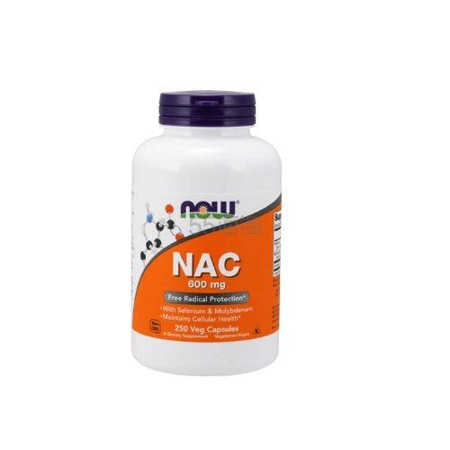 NOW NAC 600mg 250粒 .65(约131元) - 海淘优惠海淘折扣|55海淘网