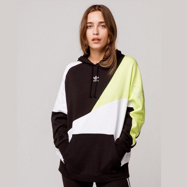 Adidas 阿迪达斯 拼色连帽卫衣