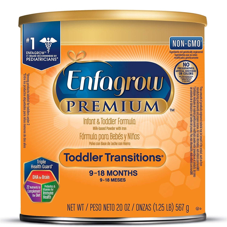 低价!Enfagrow 美赞臣 2段婴幼儿配方奶粉 567g