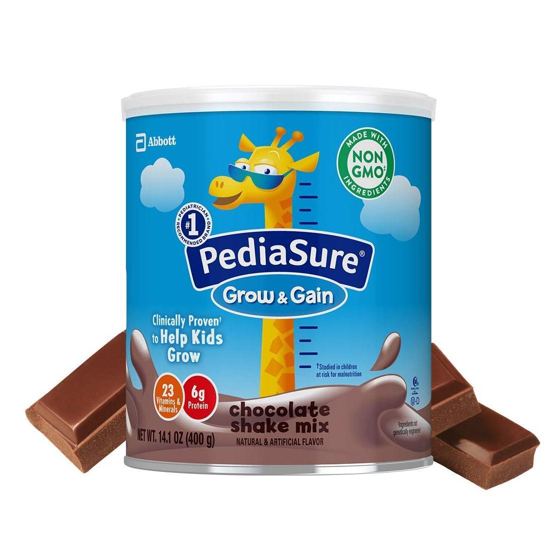 【亚马逊海外购】PediaSure 雅培 小安素婴幼儿配方营养奶粉 400gx3罐