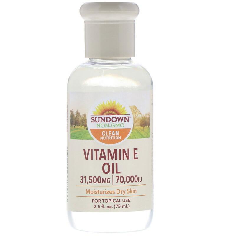 Sundown Naturals 天然维生素E油 70000IU 75ml