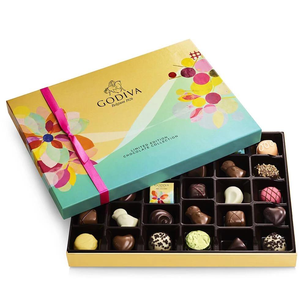 Godiva 歌帝梵美国官网:精选巧克力礼盒、礼篮