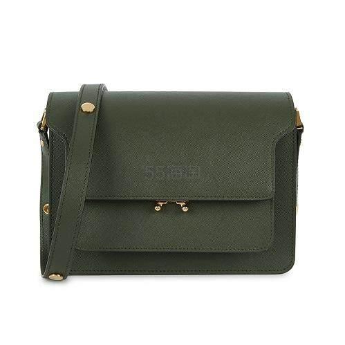 MARNI Trunk 绿色小号风琴包 ,087.5(约7,635元) - 海淘优惠海淘折扣 55海淘网