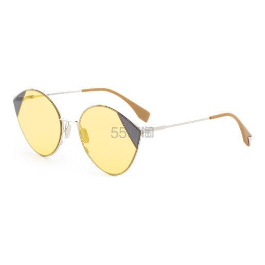 Fendi 芬迪 黄色太阳镜 (约527元) - 海淘优惠海淘折扣|55海淘网