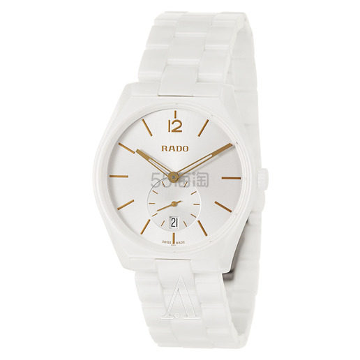 Rado 雷达表 True Specchio 系列 白色男士陶瓷腕表 R27082012 9(约2,801元) - 海淘优惠海淘折扣|55海淘网