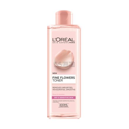 【买3付2】】LOréal Paris 欧莱雅 玫瑰精华洁肤水 400ml £4(约35元) - 海淘优惠海淘折扣|55海淘网