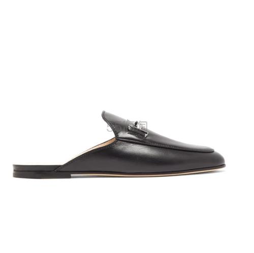TODS Double T 真皮乐福鞋 €344(约2,645元) - 海淘优惠海淘折扣|55海淘网