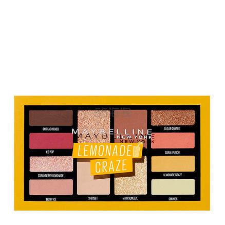 【买3付2】Maybelline New York 美宝莲纽约 柠檬热潮12色眼影盘 £10.04(约88元) - 海淘优惠海淘折扣 55海淘网