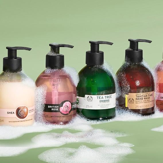 The Body Shop 美国官网:个人身体护理产品