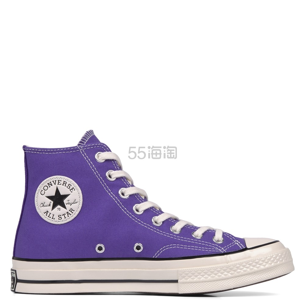 Converse 匡威 Chuck 70 紫色高帮鞋 £29.99(约261元) - 海淘优惠海淘折扣|55海淘网