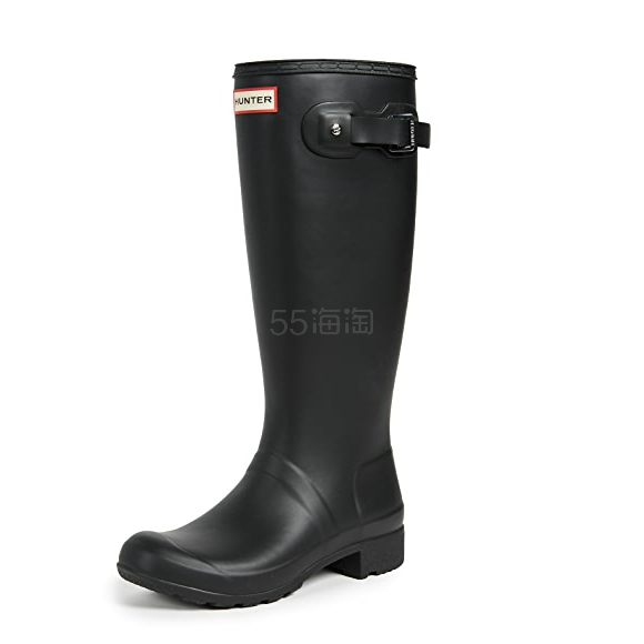 Hunter Boots Original 经典黑色长筒雨靴 2.5(约787元) - 海淘优惠海淘折扣|55海淘网